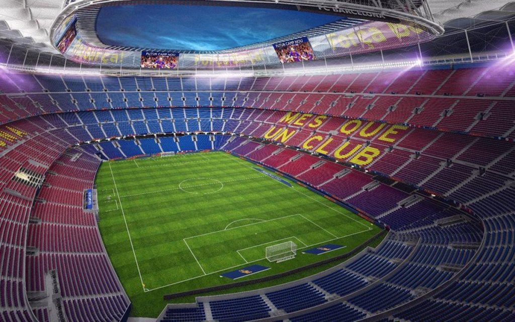 2nd biggest stadium in the world